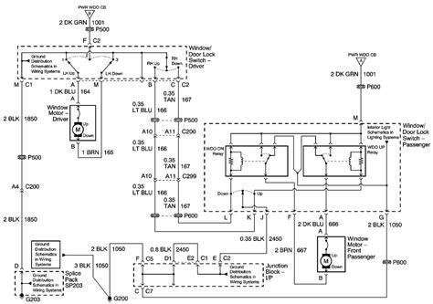 2001 Suburban Door Wiring Diagram by Repair Guides Windows 2001 Power Window Schematics