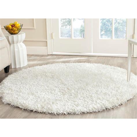 white circle rug white shag rug roselawnlutheran