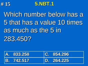 grade common core math  nbt understand  place