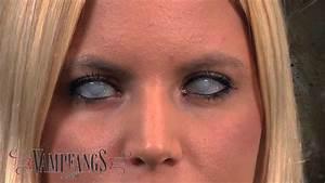 White Mesh FX Contact Lenses - YouTube