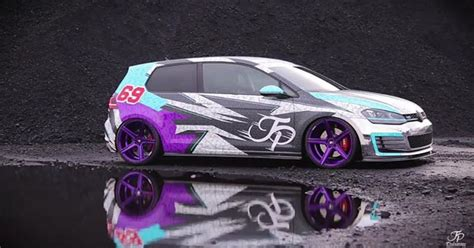 I Really Like The New Wrap On Jpperformancede Golf Gti
