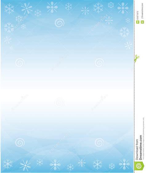 winter brochure background stock illustration image