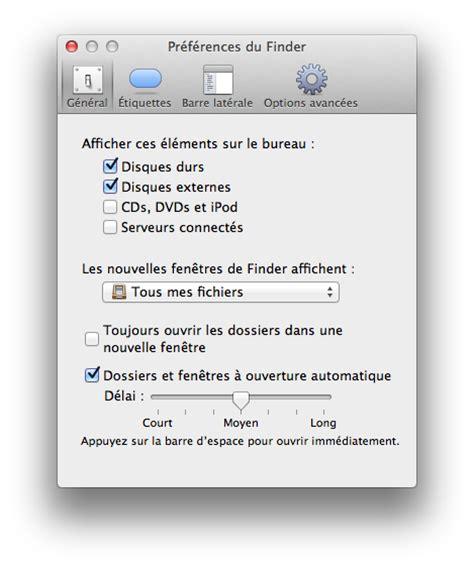 comment faire apparaitre les icones sur le bureau mac comment afficher l icône du disque dur sur bureau
