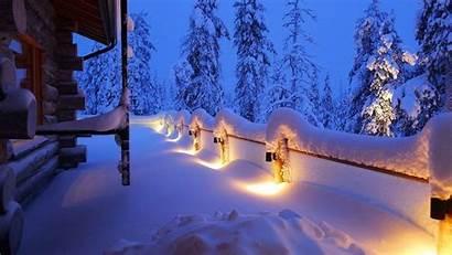 Winter Wallpapers Lights