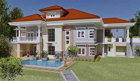 contoh rumah mewah  contoh rumah minimalis