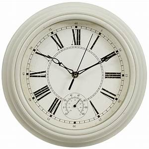 Traditional Lincoln Wall Clock - Cream