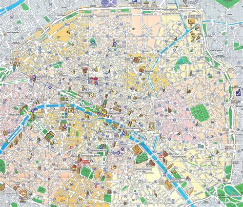 paris map detailed city  metro maps  paris