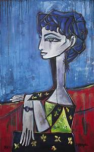 My Jacqueline Painting by Laurie Maves ART