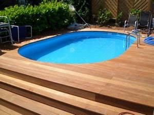 Pool Mit Holz : poolumrandung aus holz selber bauen patrial gartengestaltung pool mit holzverlleidung in ~ Orissabook.com Haus und Dekorationen