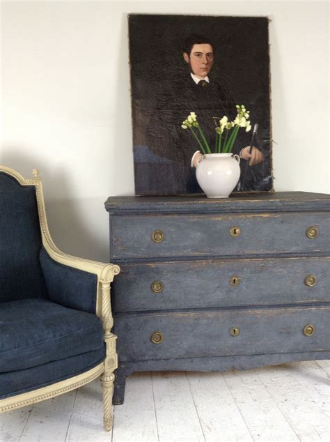 Anton K Cotswolds Gustavian Chest French Chair H A