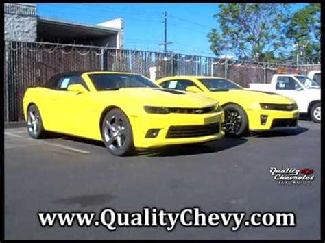 camaro zl bright yellow  ss convertible youtube