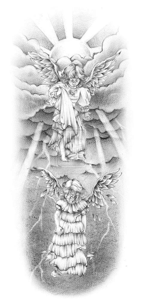 23 best images about Angels Tattoo designs on Pinterest | Baby angel tattoo, Angelic symbols and