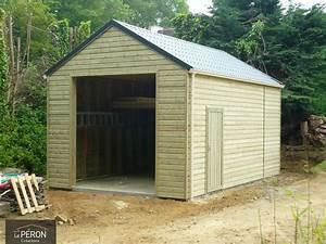 Abri Jardin Sur Mesure : abri de jardin type chalet sur mesure en bretagne ~ Melissatoandfro.com Idées de Décoration