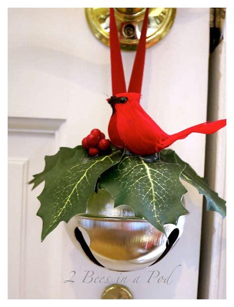 jingle bell door hanger jingle bell crafts christmas