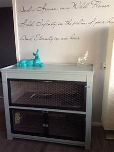 Maison Pour Lapin : meuble maison pour lapin cage pinterest maison pour ~ Premium-room.com Idées de Décoration
