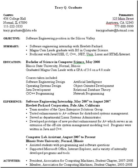 computer science degree resume 3 useful websites for free downloadable resume templates