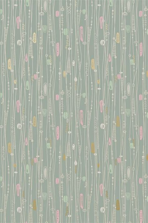super cool mid century modern wallpaper ideas