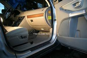 2010 Volvo Xc60 Cab Air Filter Removal