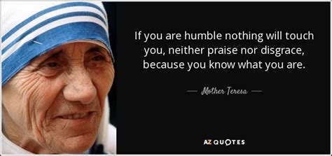 mother teresa quote    humble   touch