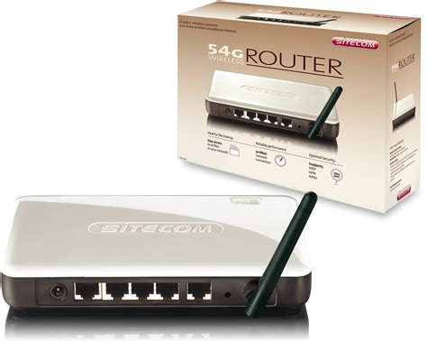 Sitecom Wl-600 Wireless Router 54g Photos