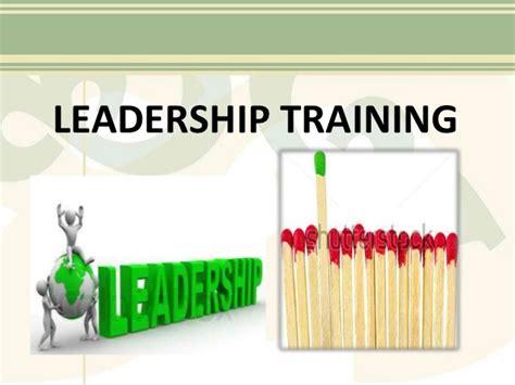 leadership training  kj