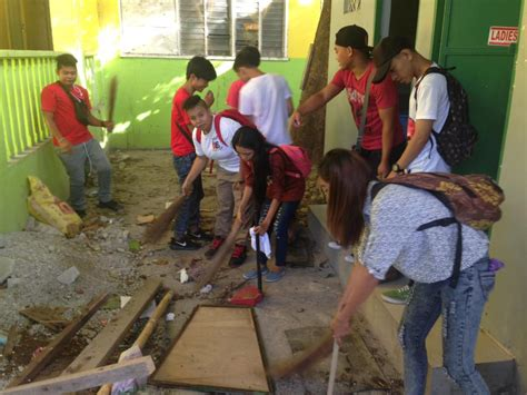 brigada eskwela pushes   disaster preparedness