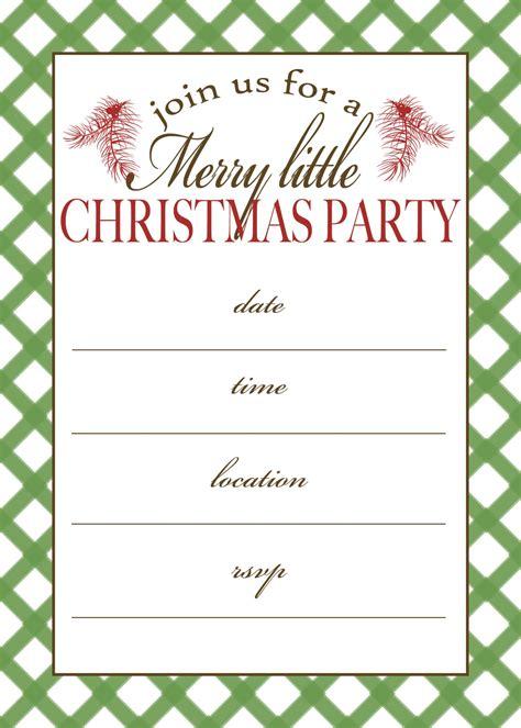printable christmas party invitation moritz fine