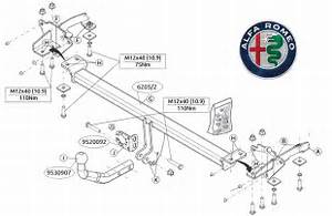 Alfa Romeo Giulia Tow Bar Fitting