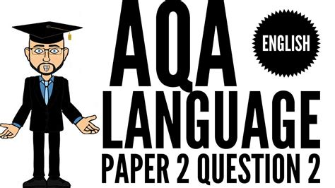 aqa english language paper  question  youtube