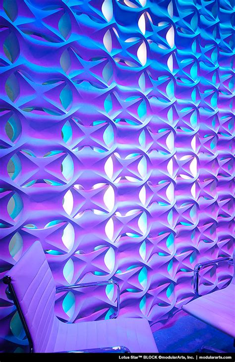 12 3d wall panels with led lighting for evocative house