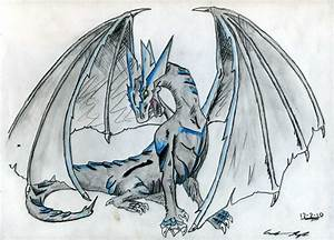 Ice Dragon by Wyldfire7 on DeviantArt
