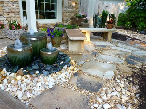 front yard water ideas front yard water feature by outdoor makeover traditional landscape atlanta by outdoor