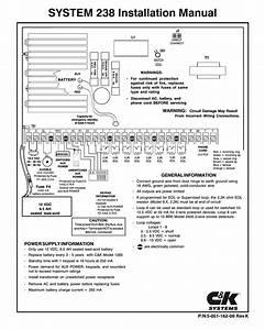 C U0026k Systems System 238 Installation Manual
