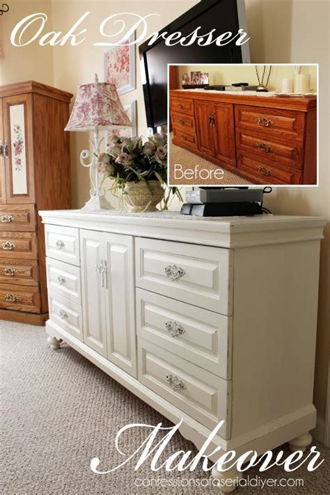 oak dresser makeover diy ideas oak bedroom furniture