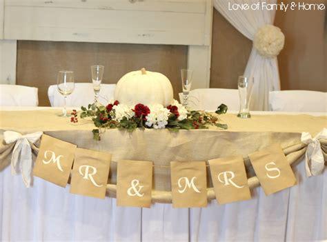 Wedding Ideas Rustic : Diy Rustic, Chic, Fall Wedding Reveal...