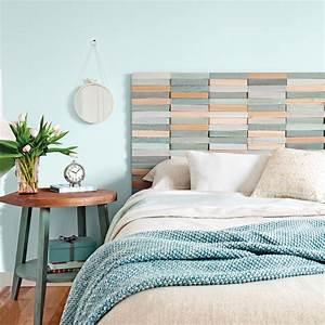 Photo Tete De Lit : diy une t te de lit au relief color je d core ~ Dallasstarsshop.com Idées de Décoration