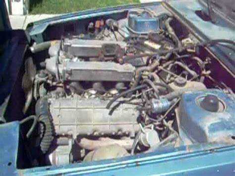 renault 30 motor en marcha