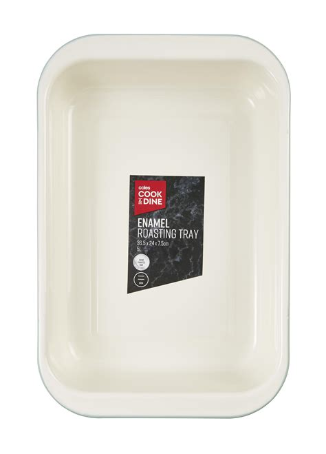 enamel coles bakeware roasting tray selling under only
