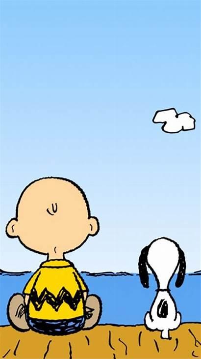Cartoon Peanuts Phone Mobile Charlie Brown Snoopy