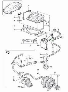 Porsche 997 Wiring Harness For Starter Motor And
