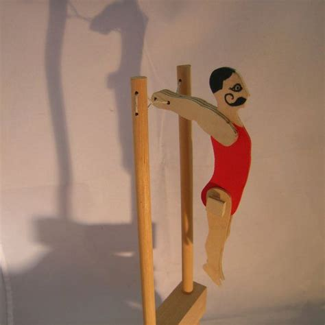 vintage wooden acrobat toy antique toys toys  vintage