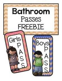 bathroom pass ideas 1000 images about potty passes on pass lanyards and bathroom