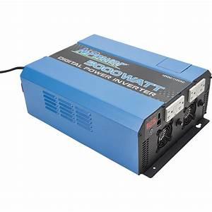 Npower Digital Portable Power Inverter  U2014 5000 Watts