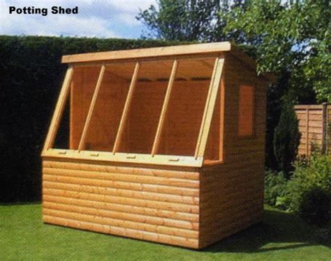 garden potting shed plans how to build trusses for shed