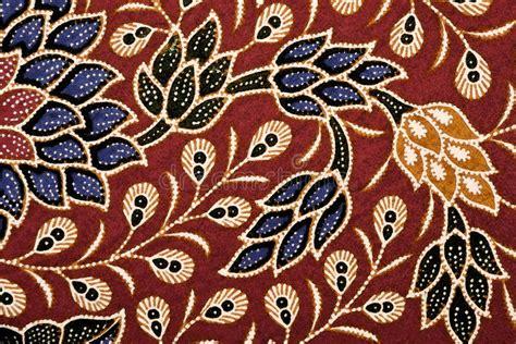 Digital Art Batik Floral Stock Illustration. Illustration