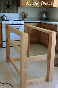 how to build a kitchen island How To Make A Pallet Kitchen Island for Less Than $50 ...