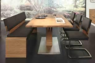 esszimmer tischgruppe tischgruppe essgruppe esszimmer bank tisch stühle asteiche massiv geölt esszimmer komplettsets