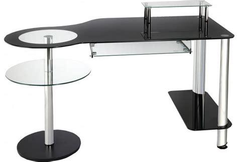 meuble bureau verre bureau destock meubles achat bureau informatique verre