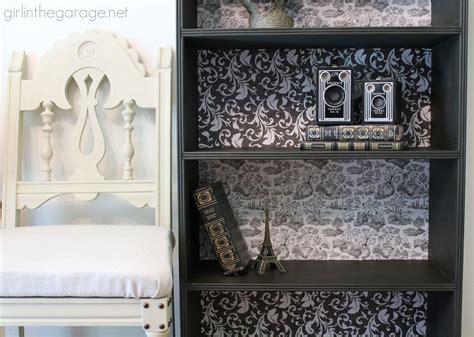 Diy Decoupage Bookcase