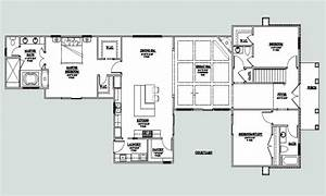 1 story house plans with courtyard for 1 story house plans with courtyard